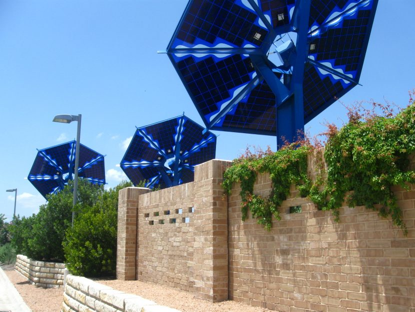 Sustainability Projects Solar Public Art Installation