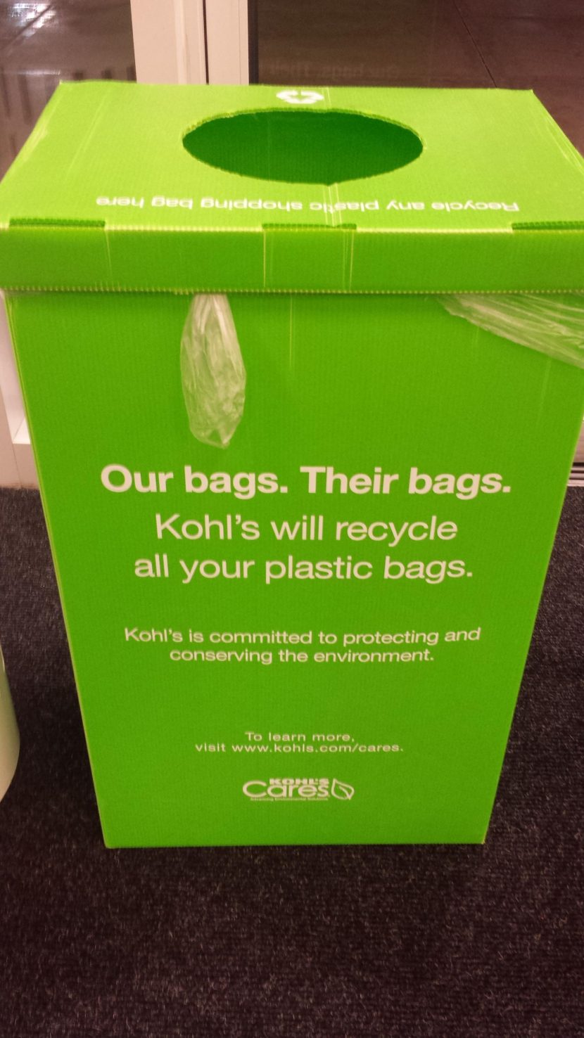 Sustainability Projects Store Shopping Bag Recycling